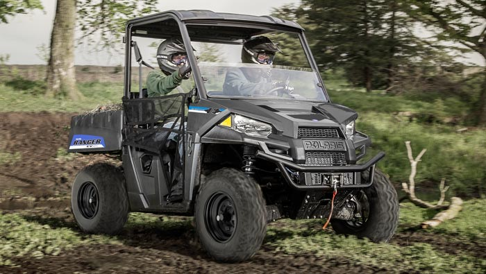 Ranger® EV - Legendary Off-Road Capability. Electric Power.