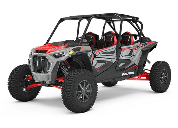RZR XP® 4 TURBO S Gray