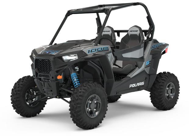 Polaris RZR S 1000 Turbo Silver