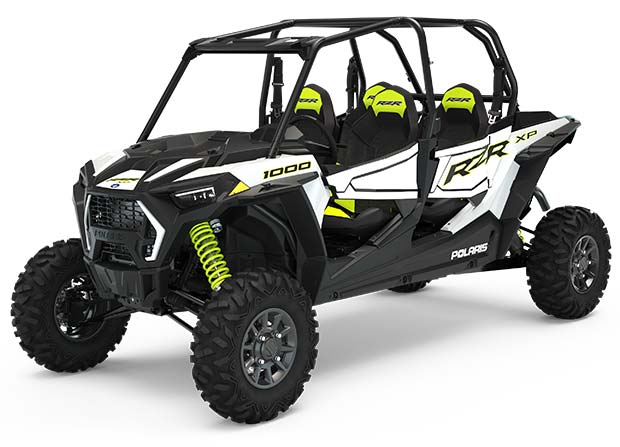 Polaris RZR XP 4 1000 Sport White Lightning