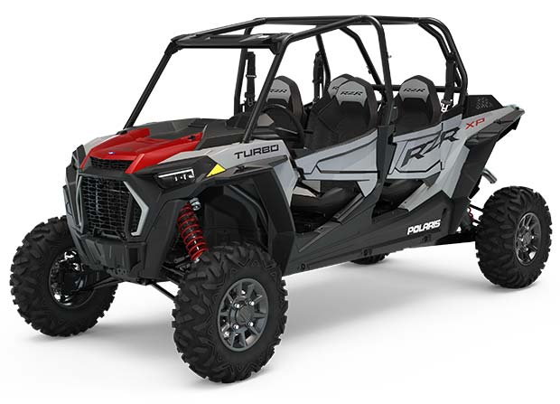 Polaris RZR XP 4 Turbo Ghost Gray